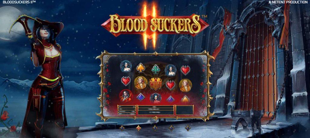 Spilleautomaten Blood Suckers I eller II – Vampyrerne er blodtørstige
