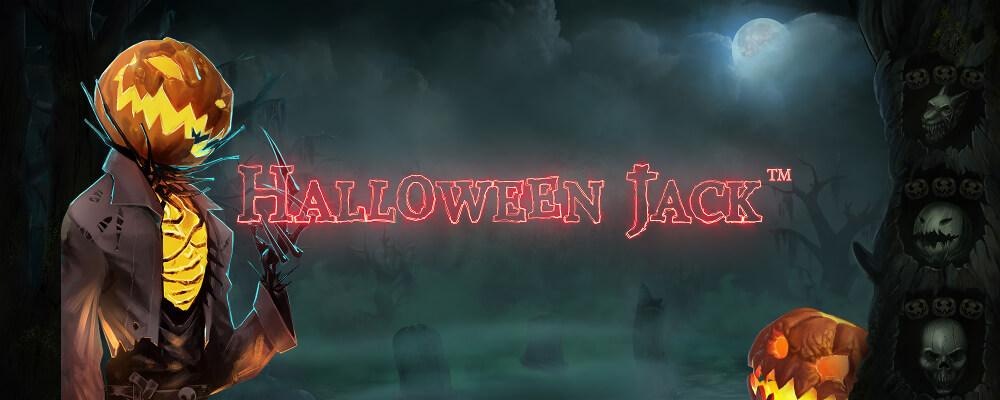 Den nye spilleautomat Halloween Jack er på dit online casino i dag. Spin og vind!