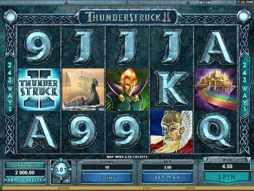 I hvilken Thunderstruck spilleautomat er tordenguden bedst – I eller II?
