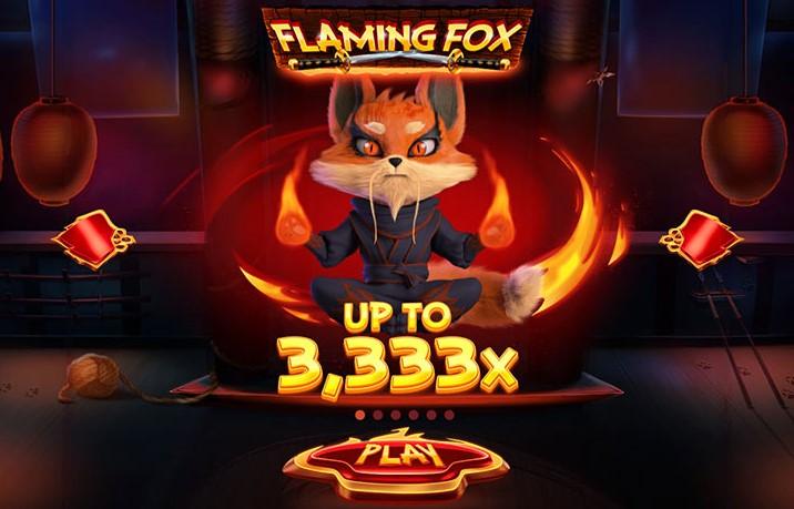 Spilleautomaten Flaming Fox – Et spændende onlinespil, der sparker røv!