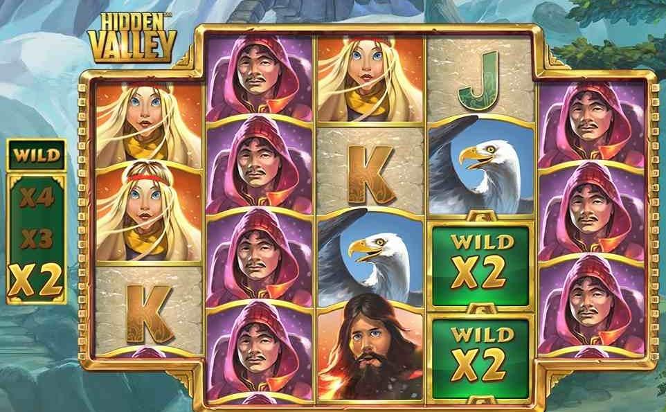 Anmeldelse af spilleautomaten Hidden Valley – Find guldet i Shangri-La