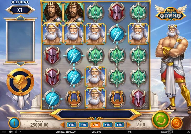 Er du til græske guder og store gevinster? Så spil Rise of Olympus!