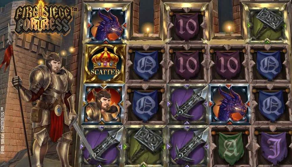 Spilanmeldelse af spilleautomaten Fire Siege Fortress